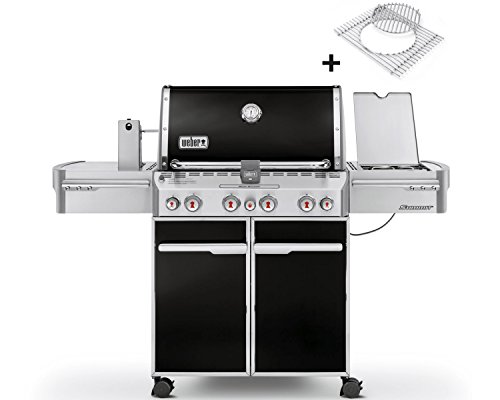 Weber Gasgrill Summit E-470, Black
