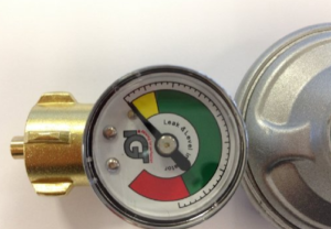 gasdruckregler mit anzeige für gasflaschen