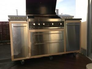 mobile gartenküche
