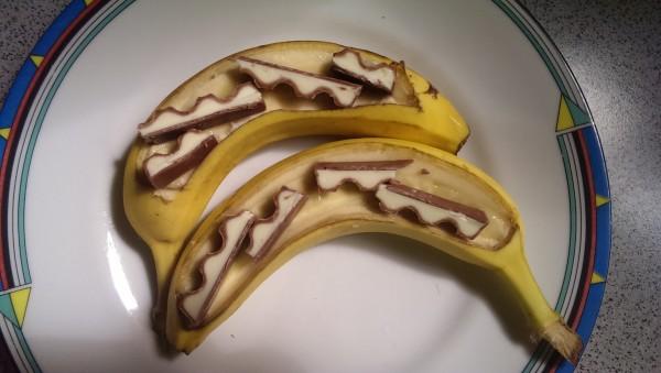 Schokolade schneiden