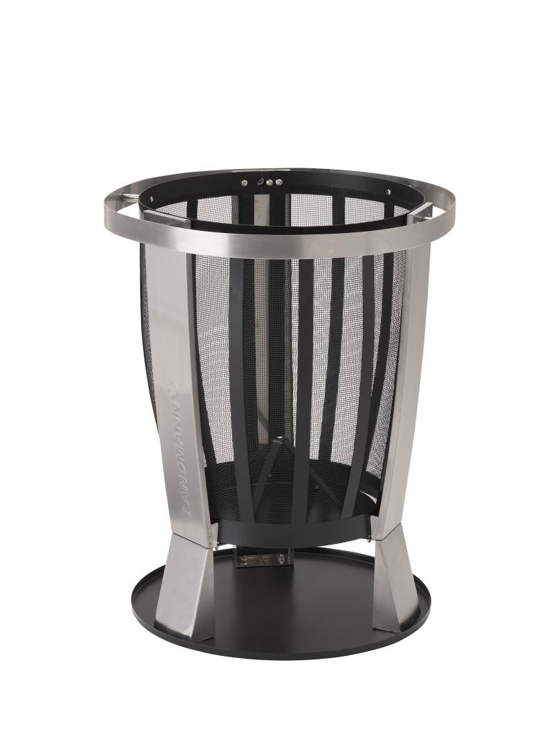 pressebild landmann feuerkorb style 11804 grillen f r. Black Bedroom Furniture Sets. Home Design Ideas