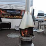 grillkamin am grillplatz