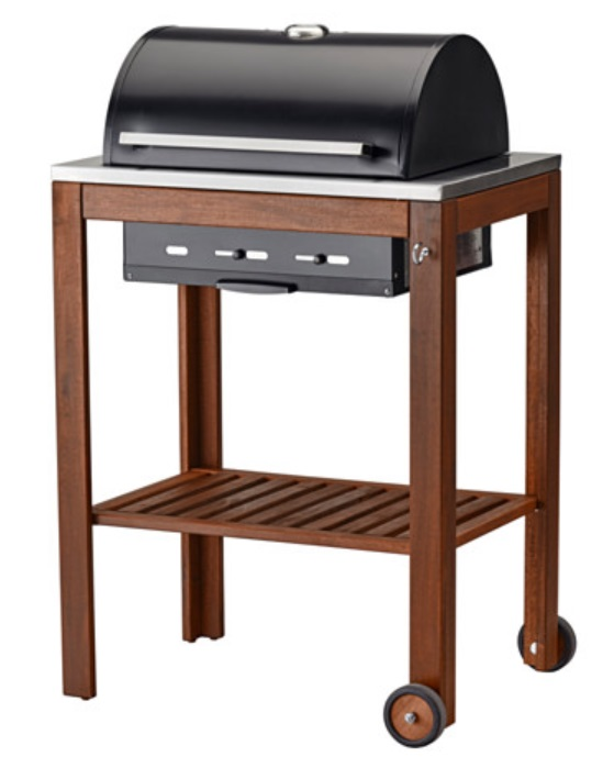 der grill von ikea f r holzkohle smoken und grillen. Black Bedroom Furniture Sets. Home Design Ideas