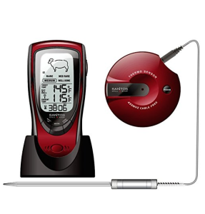 Santos Audiodigital BBQ Grillthermometer mit Funk