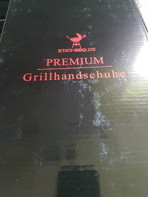 tolle verpackung der grillhandschuhe