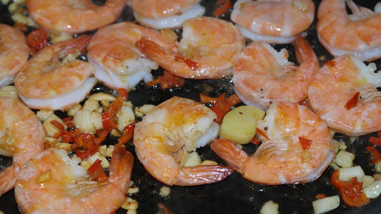 shrimps richtig grillen