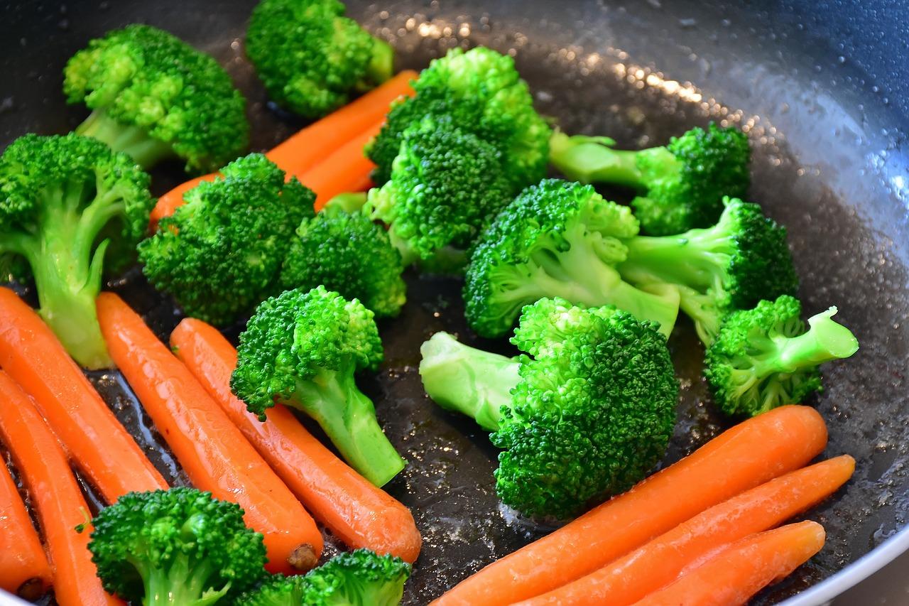 vegetarisches gegrilltes Gemüse