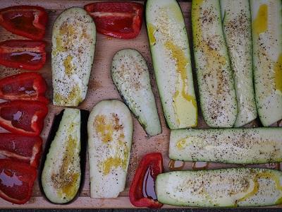 vegetarisches Grillgemüse